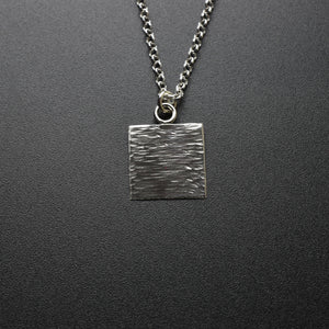 Forged Pendant & Chain