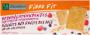 Damhert Fibre Fit Forest fruit biscuits 160g