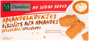 Damhert NO sugar added Almonds biscuits 125g