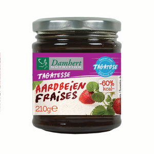 Damhert tagatese strawberry jam 210g
