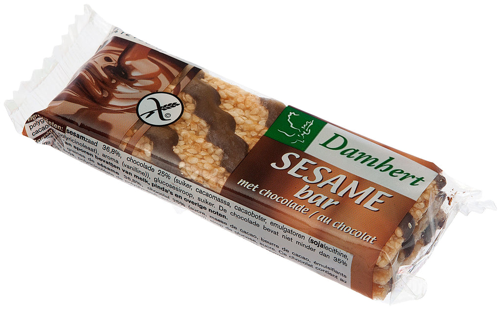 Damhert Traditional Sesame Bar Chocolate 45g