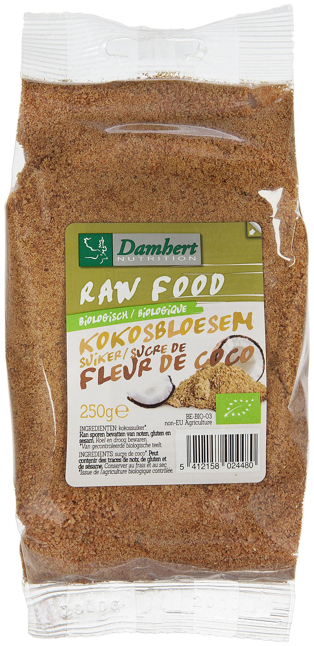 Damhert Raw Food Coconut sugar Organic