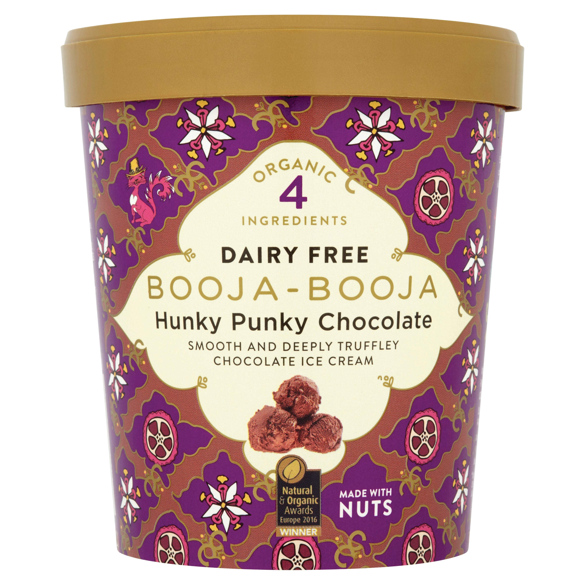 Booja-Booja Hunky Punky Chocolate ice cream