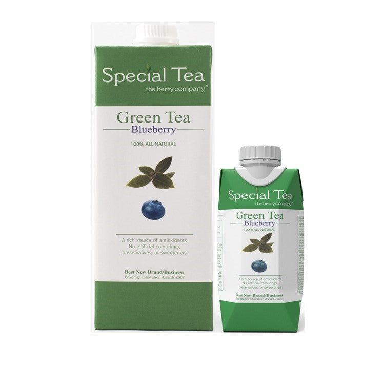 The Berry Company Green Tea & Blueberry