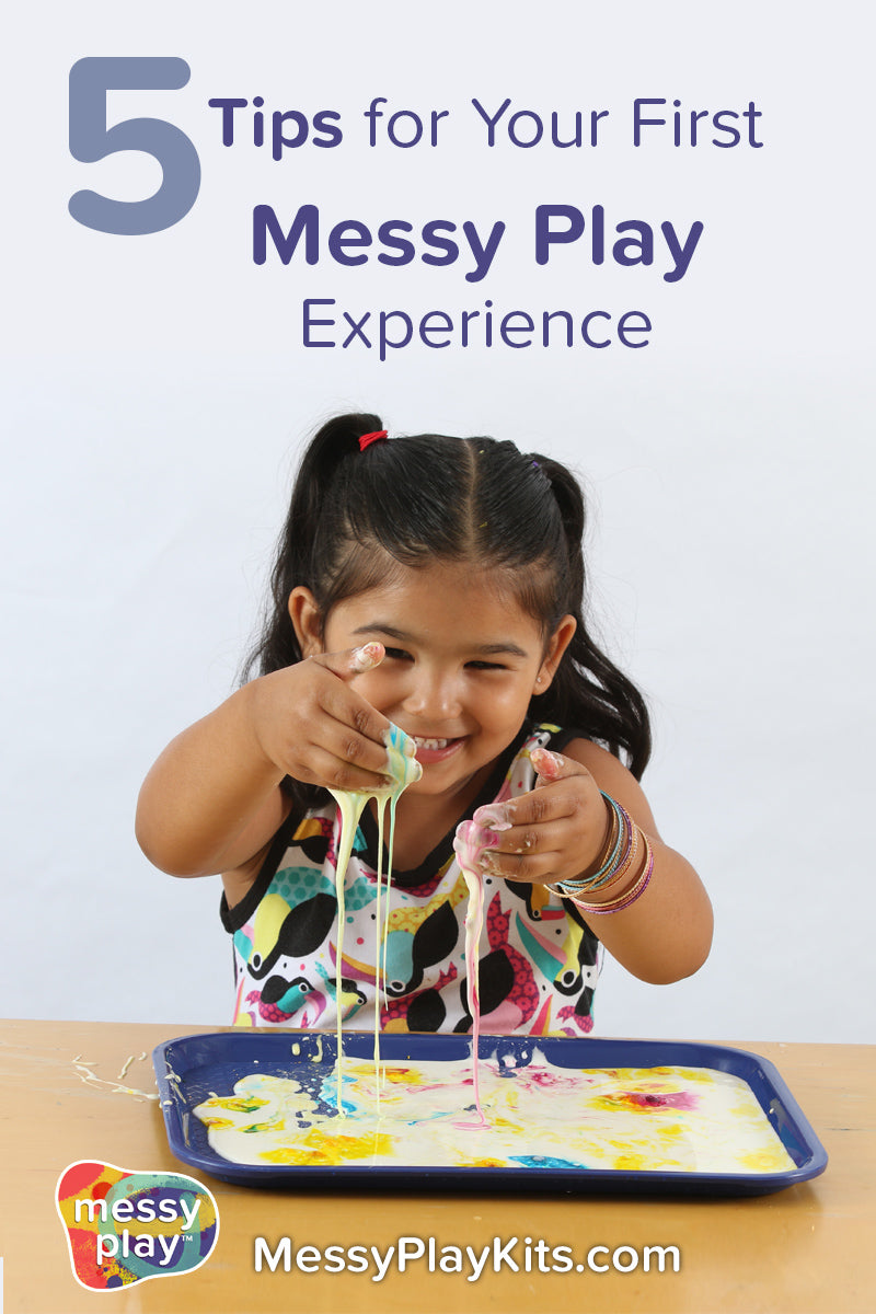 5 tips for your first messy play experience
