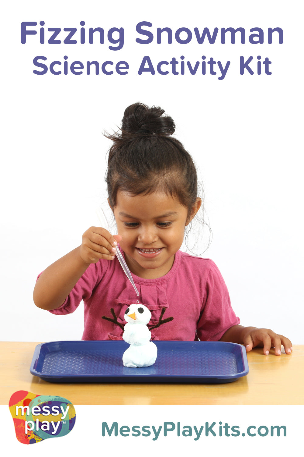 Fizzing Snowman from Messy Play Kits