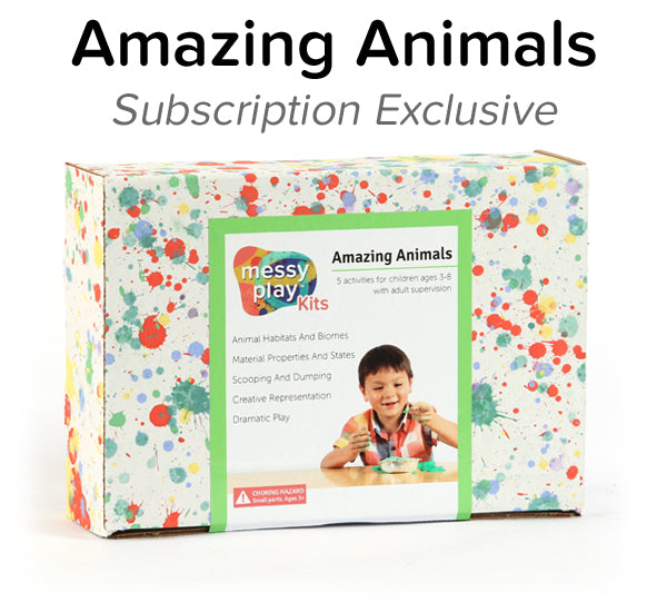 Amazing Animals Messy Play Kit