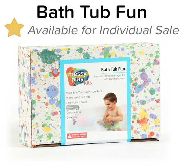 Bath Tub Fun Messy Play Kit
