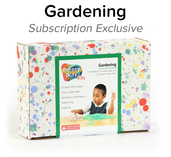 Gardening Messy Play Kit