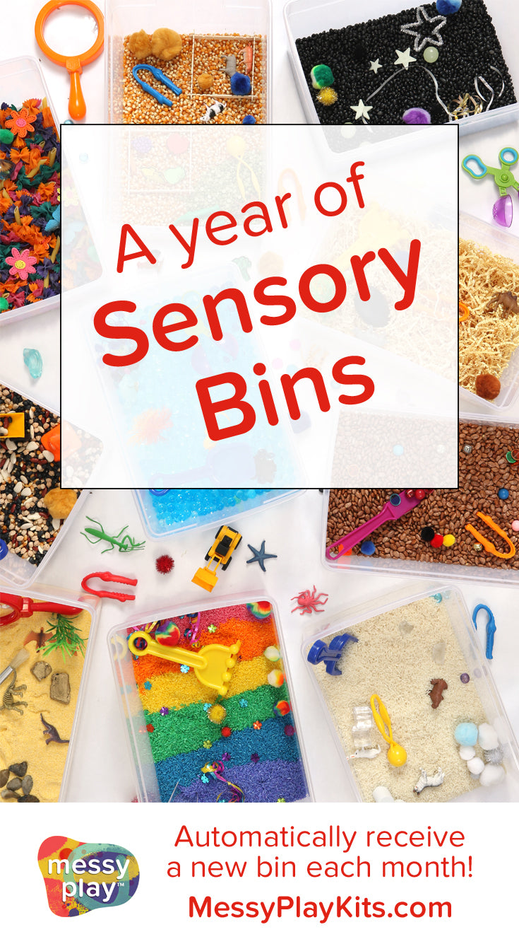 Sensory Bin Subscription from Messy Play Kits