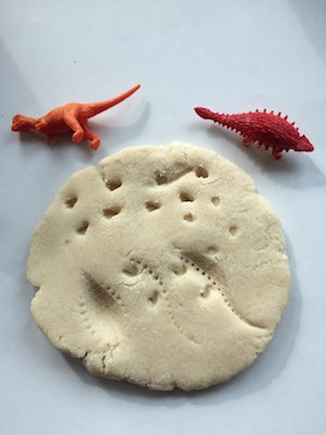 Fossils from Dinosaur Dig Messy Play Kit
