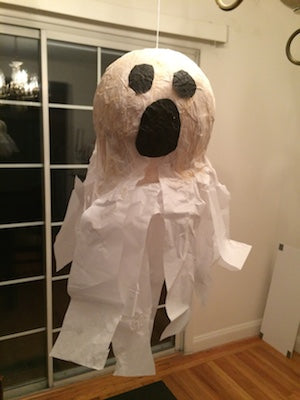 Paper Mache Ghost - Gooey Ghouls Messy Play Kit