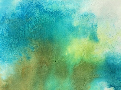 Watercolor Corals from Under the Sea Messy Play Kit
