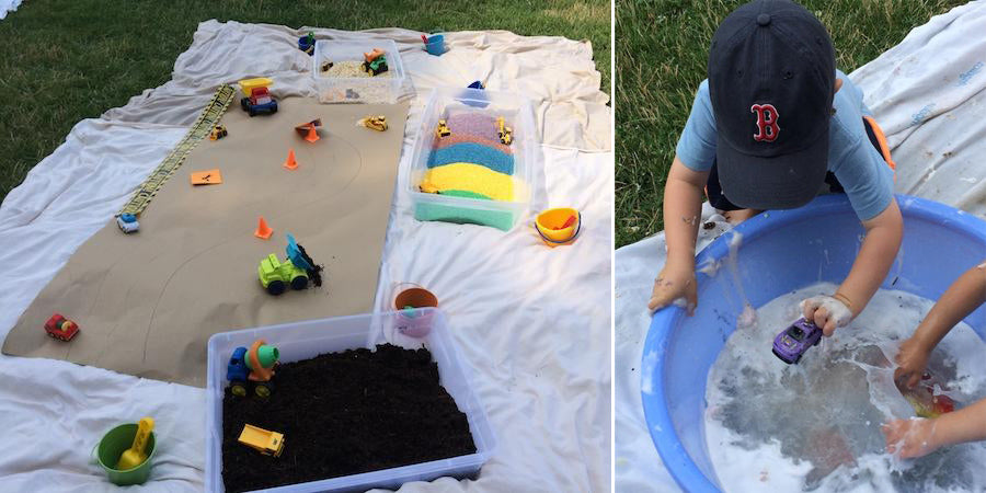 Messy Play Tips and Tricks