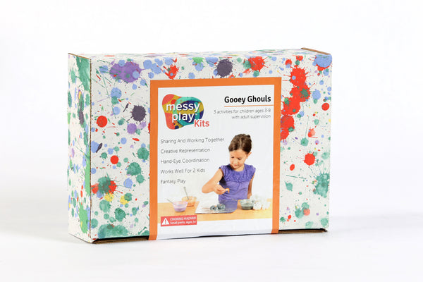 Gooey Ghouls Messy Play Kit