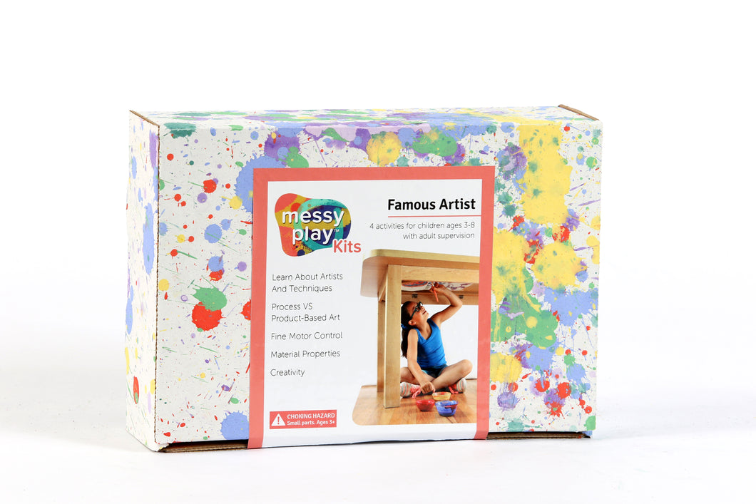 Famous Artists Messy Play Kit