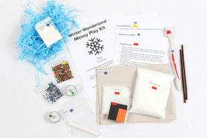 Winter Wonderland Messy Play Kit
