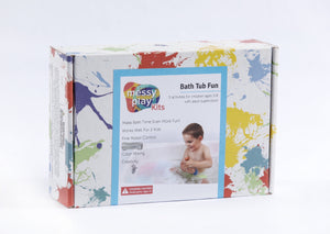 Bath Tub Fun Messy Play Kit front of box