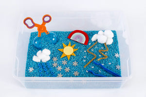 NEW: Weather Sensory Bin