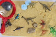 Load image into Gallery viewer, Dinosaur Excavation Sensory Bin