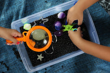 Load image into Gallery viewer, Outer Space Sensory Bin