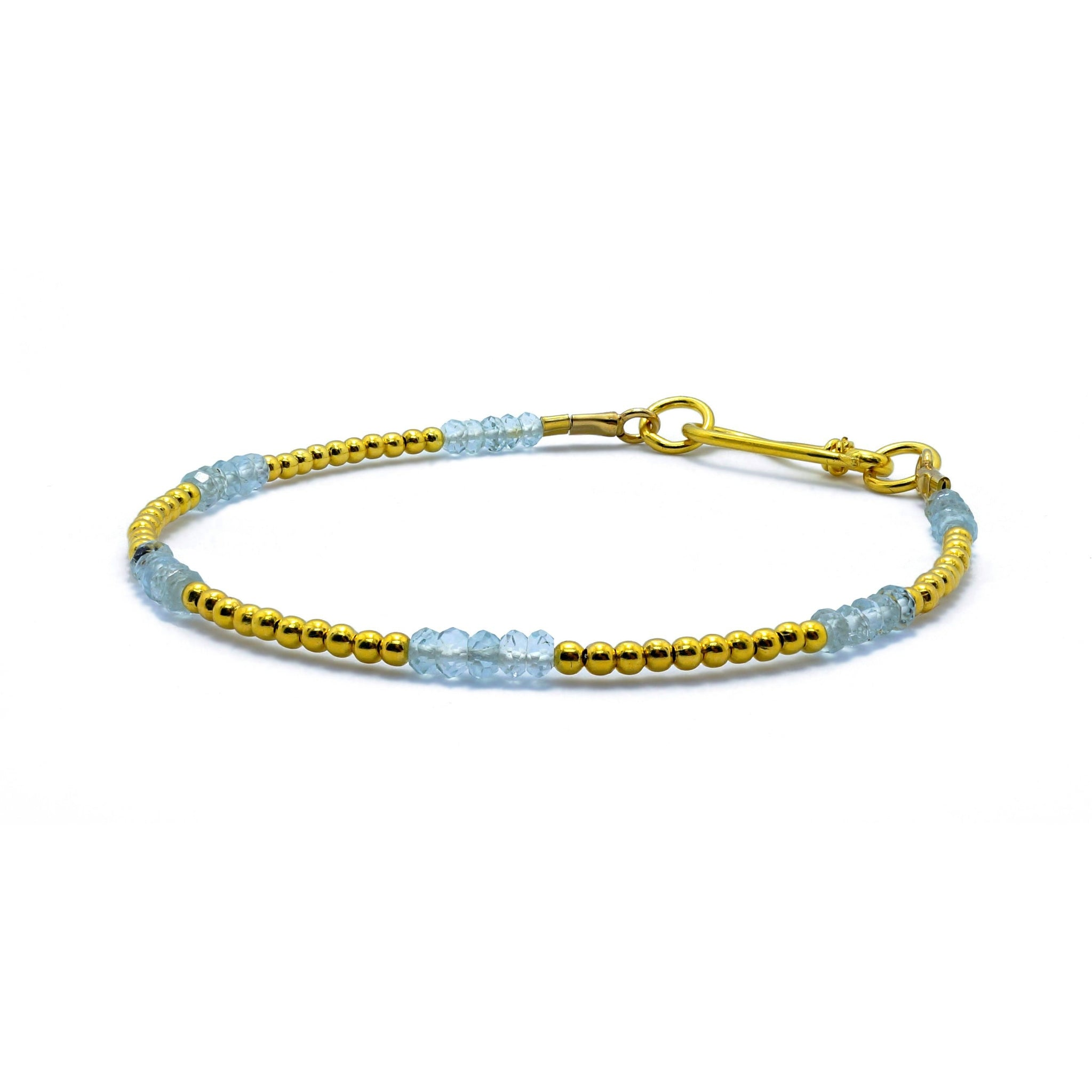 bracelet london products aquamarine gem aqua healing orelia