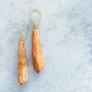 """Yasmin"" Quartz Earrings"