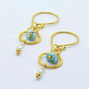 """Nova"" Turquoise Earrings"