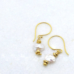 """Nenya"" Pearl Earrings"