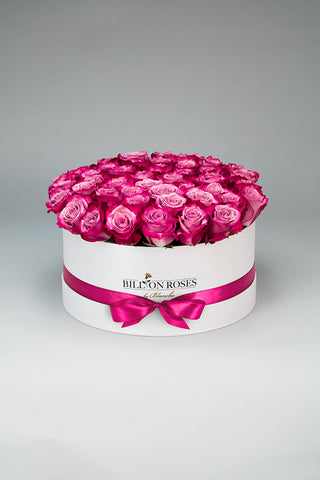Living Rose White Box