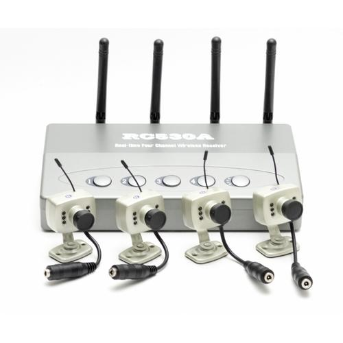 HS530x4: 4 Camera Wireless Monitoring System