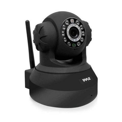 IP Camera Surveillance Security Monitor with Wi-Fi, P2P Network, Image Capture, Video Recording, Built-in Web Server, Software Included, Downloadable App