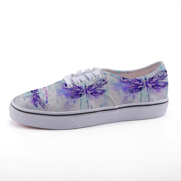 Exclusive Fireflies Print Low-top  canvas shoes