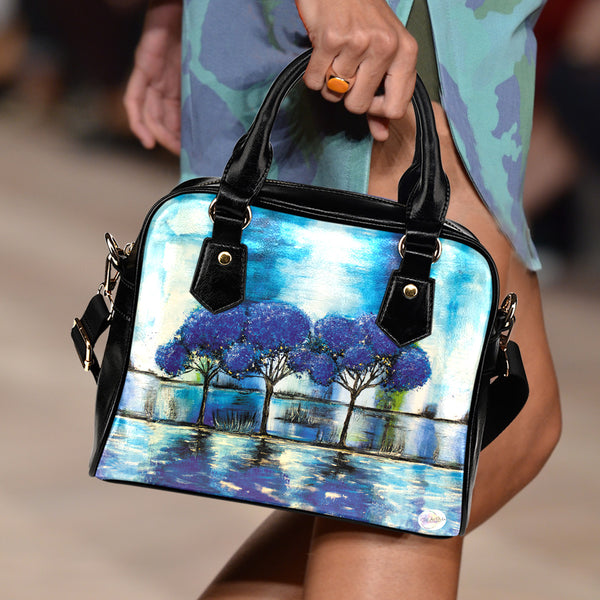 Blue Reflections Handbag