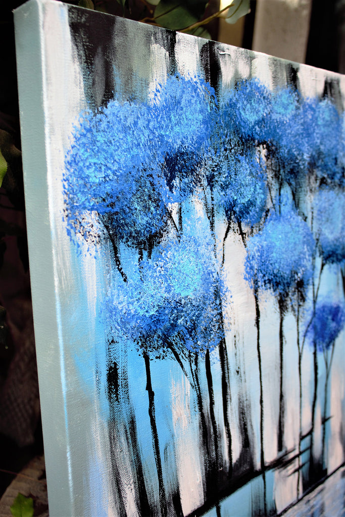 SOLD Blue Forest Original