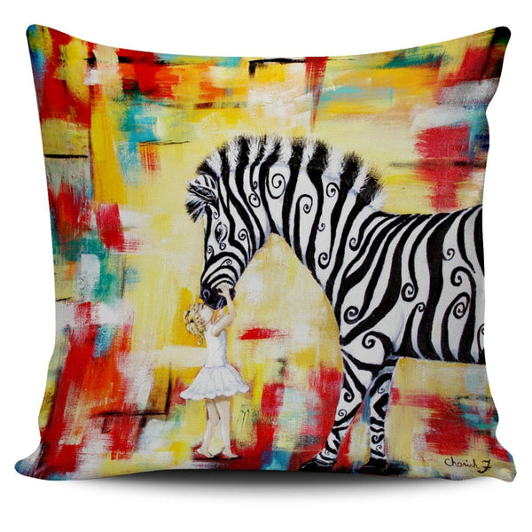 Acceptance Throw Pillow Cover 18x18in