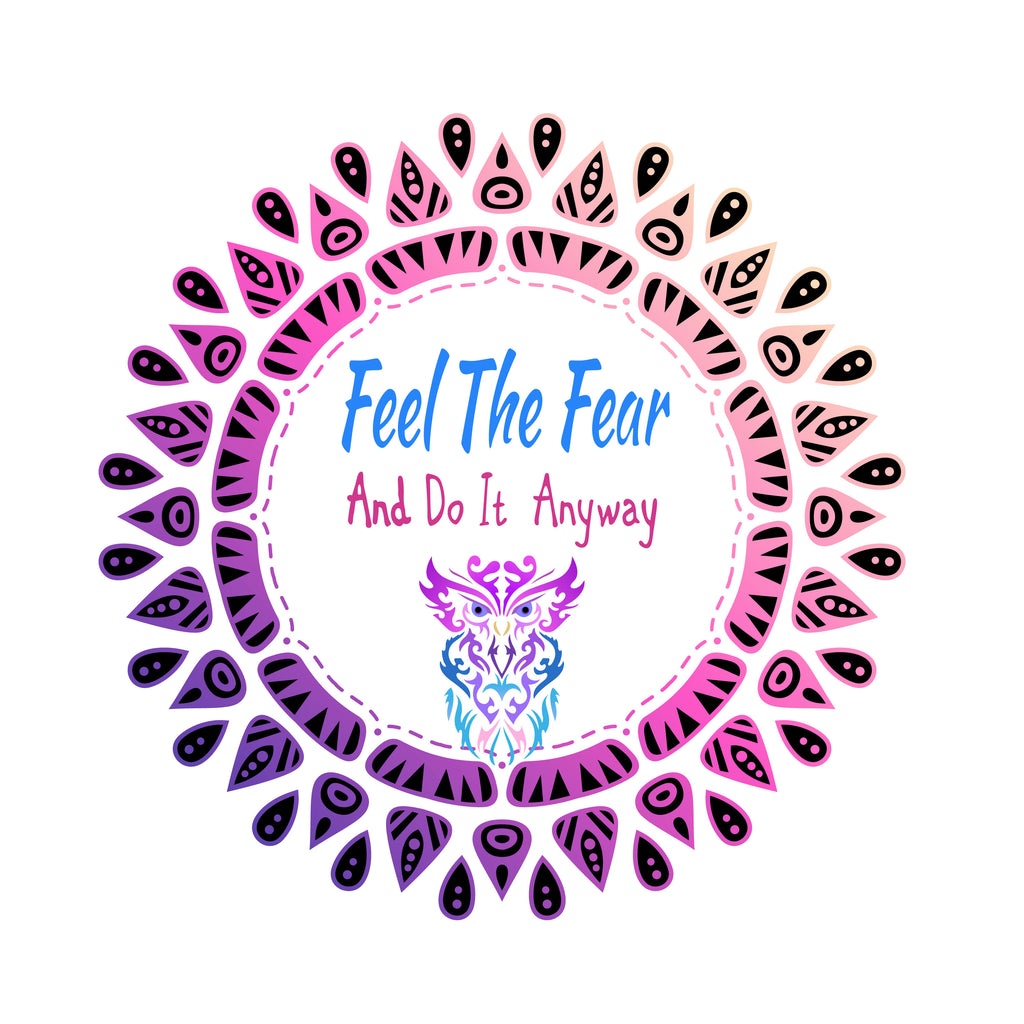 Feel The Fear Digital Download Print