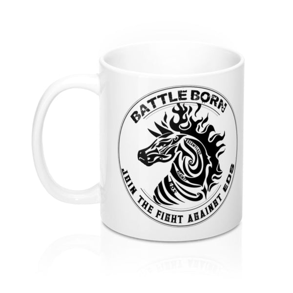 Battle Born EDS Tribal Zebra Mug 11oz