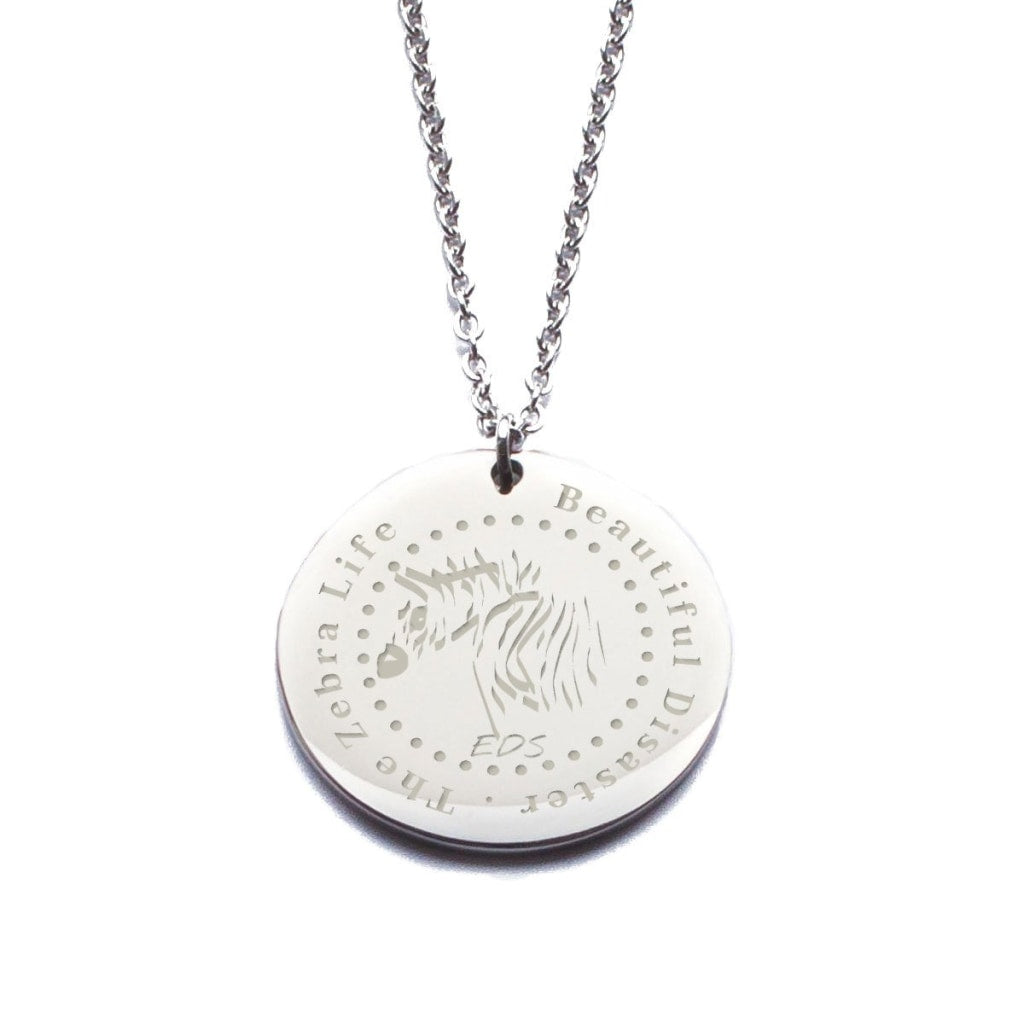 Beautiful Disaster EDS Charm Necklace