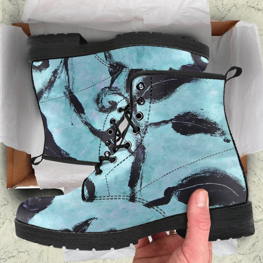 Birds Of A Feather Boots - C.W. Art Studio
