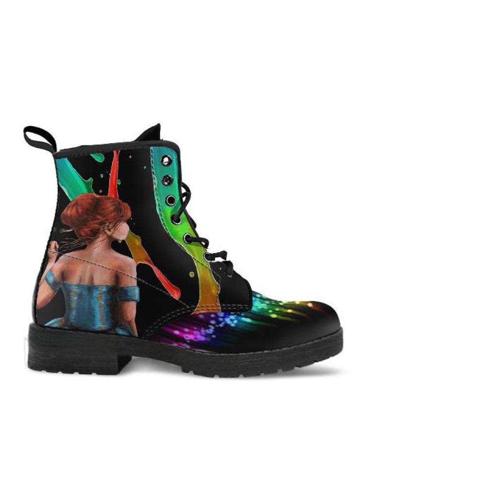 Color Splash Boots - C.W. Art Studio