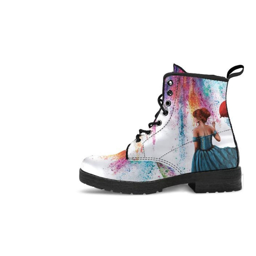 Colorfall Storm White Boots