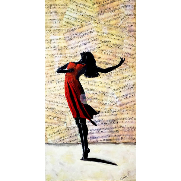 Dance With Me  Glicee Canvas Print