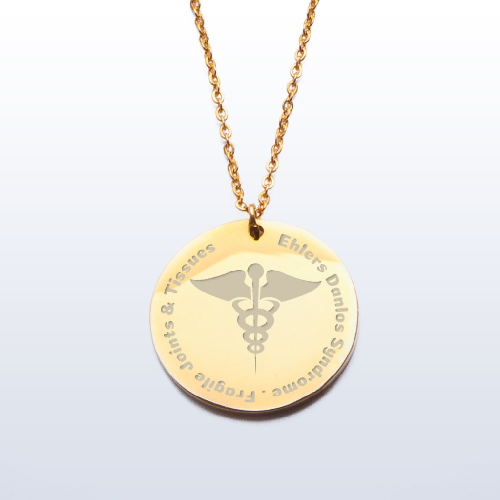 EDS Medical Alert Charm Pendant - C.W. Art Studio