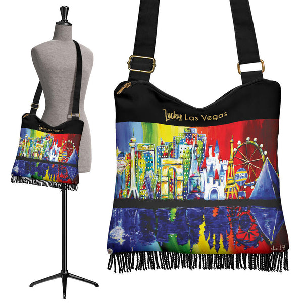 Lucky Las Vegas Boho Cross Body Purse