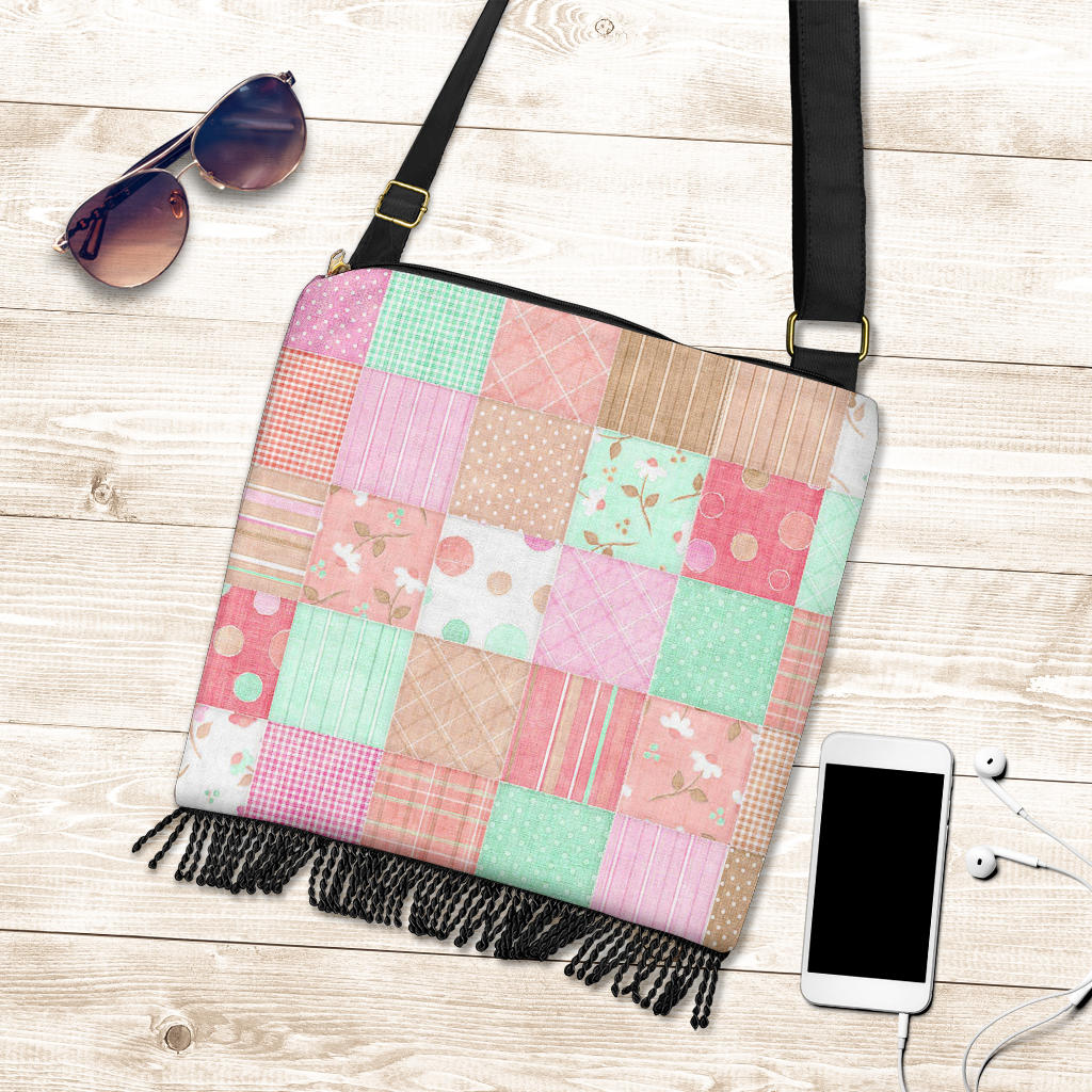 Holly Hobby Style Patchwork Boho Bag Purse