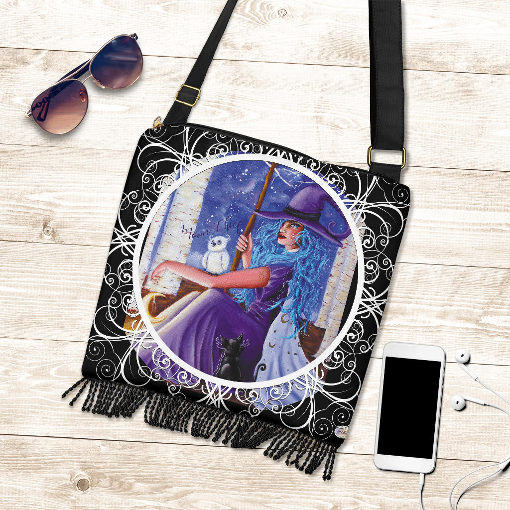 The Moon Thief Boho Cross Body Purse