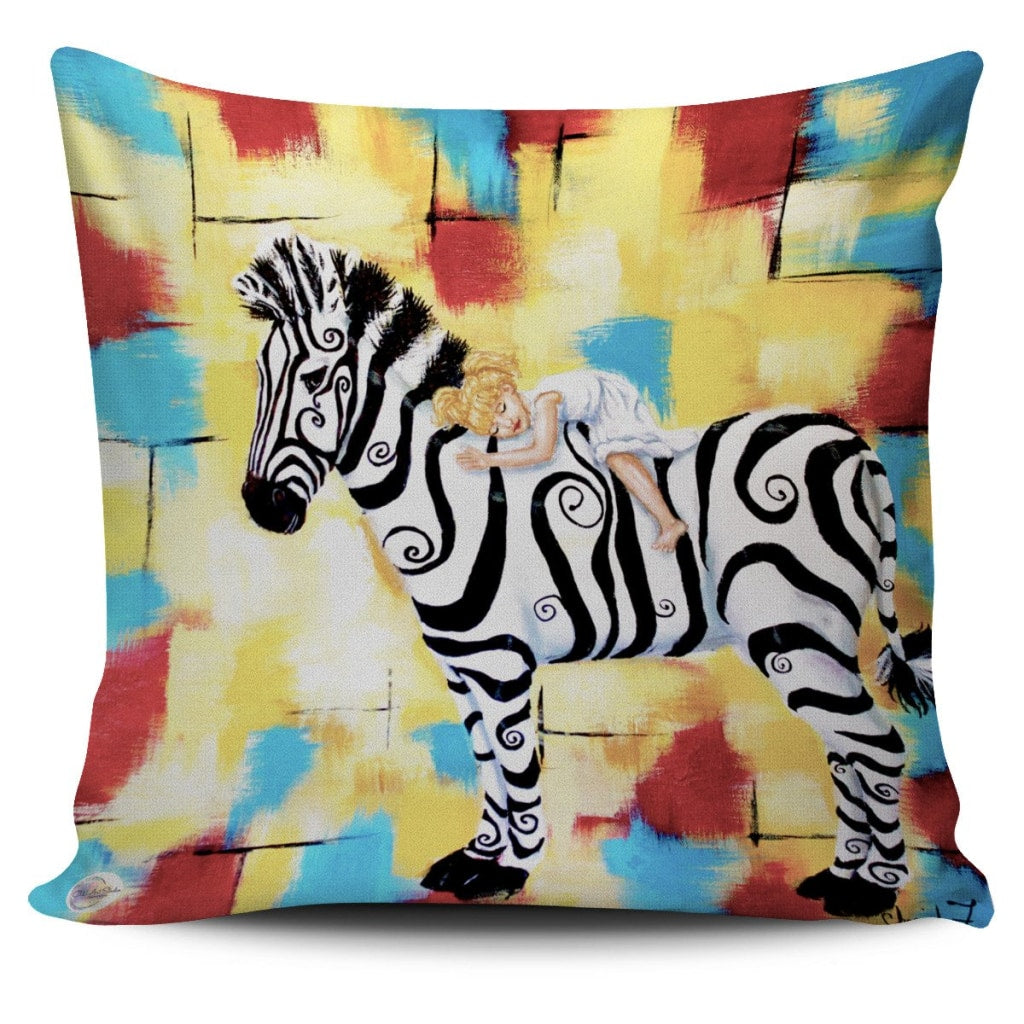 Grace Throw Pillow Cover 18x18in