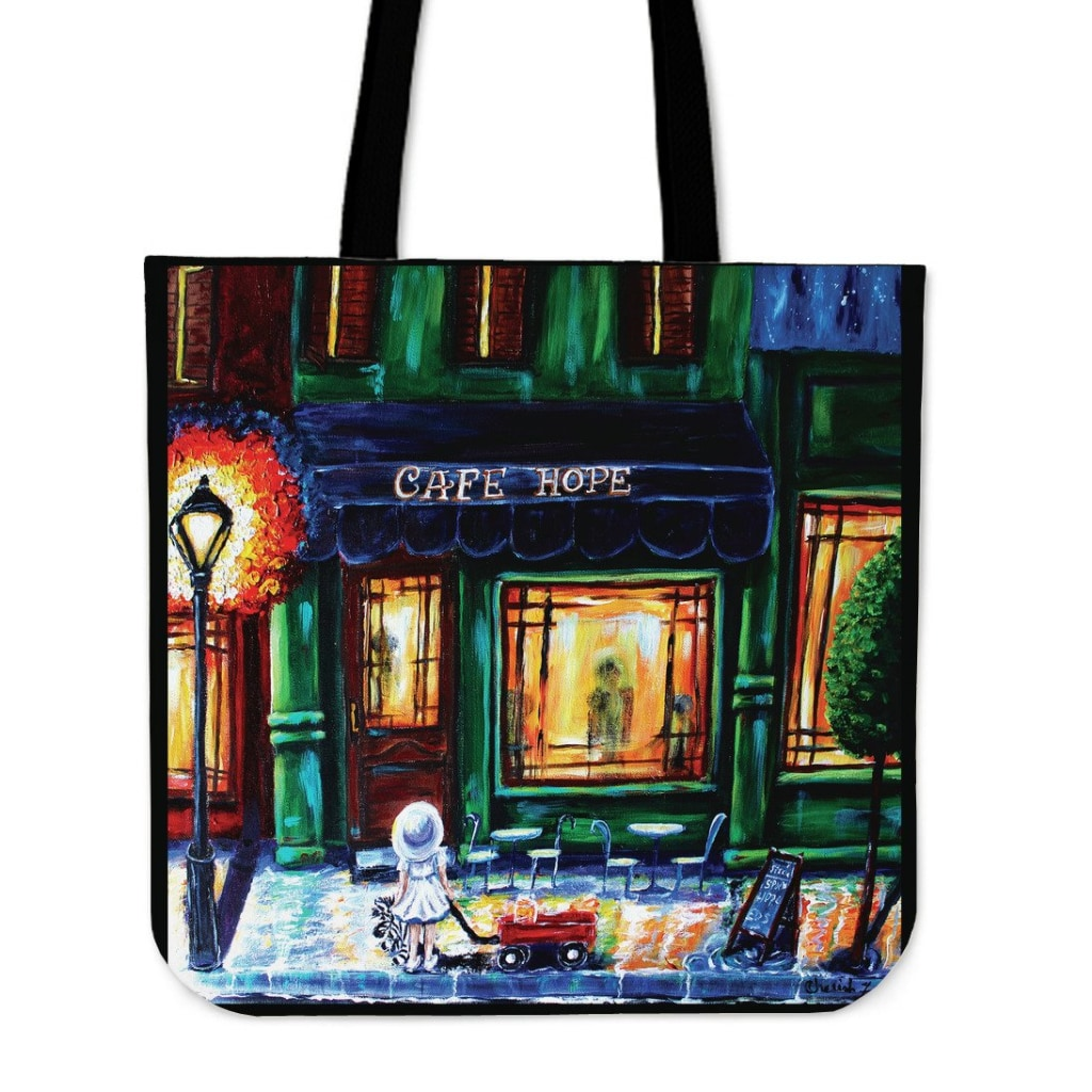 Hope Cafe Tote Bag