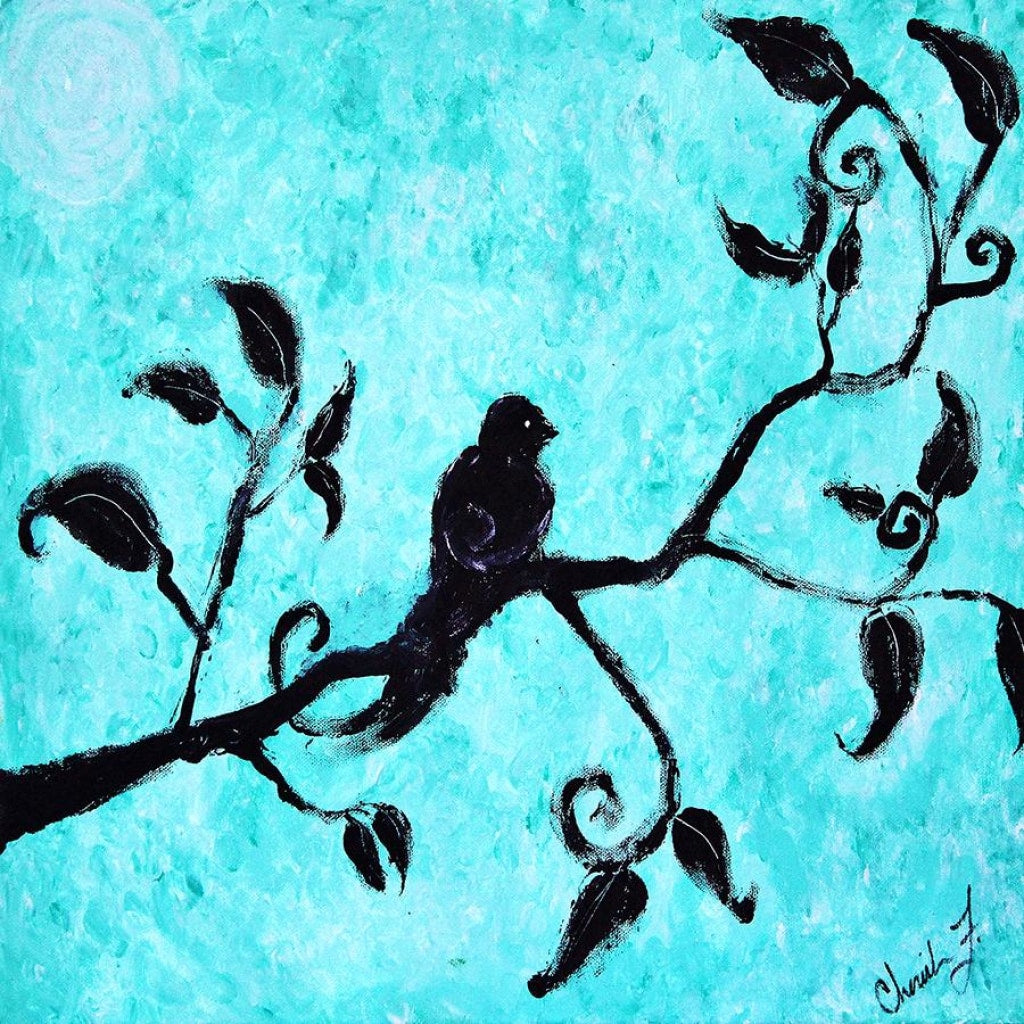 Lone Bird Cotton Rag Fine Art Prints